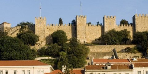Castelo Sao Jorge lisbon lisboa