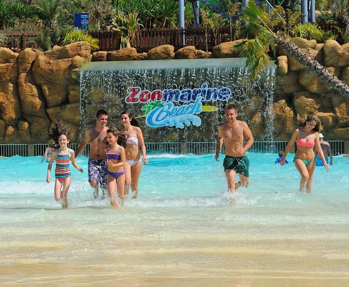 zoomarine beach