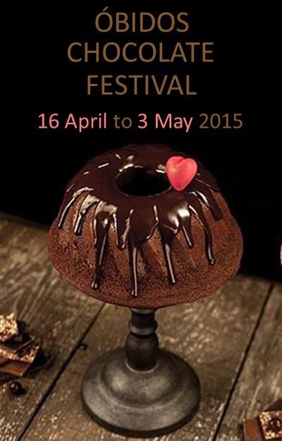 obidos chocolate festival 2015, chocolate portugal