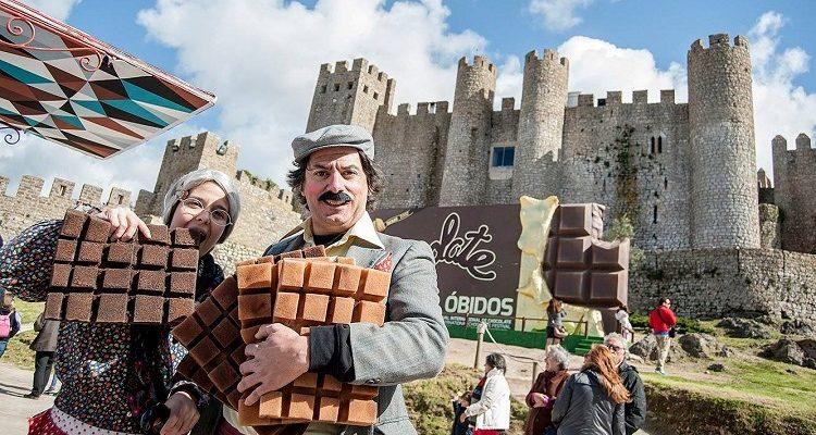 obidos choclate festival